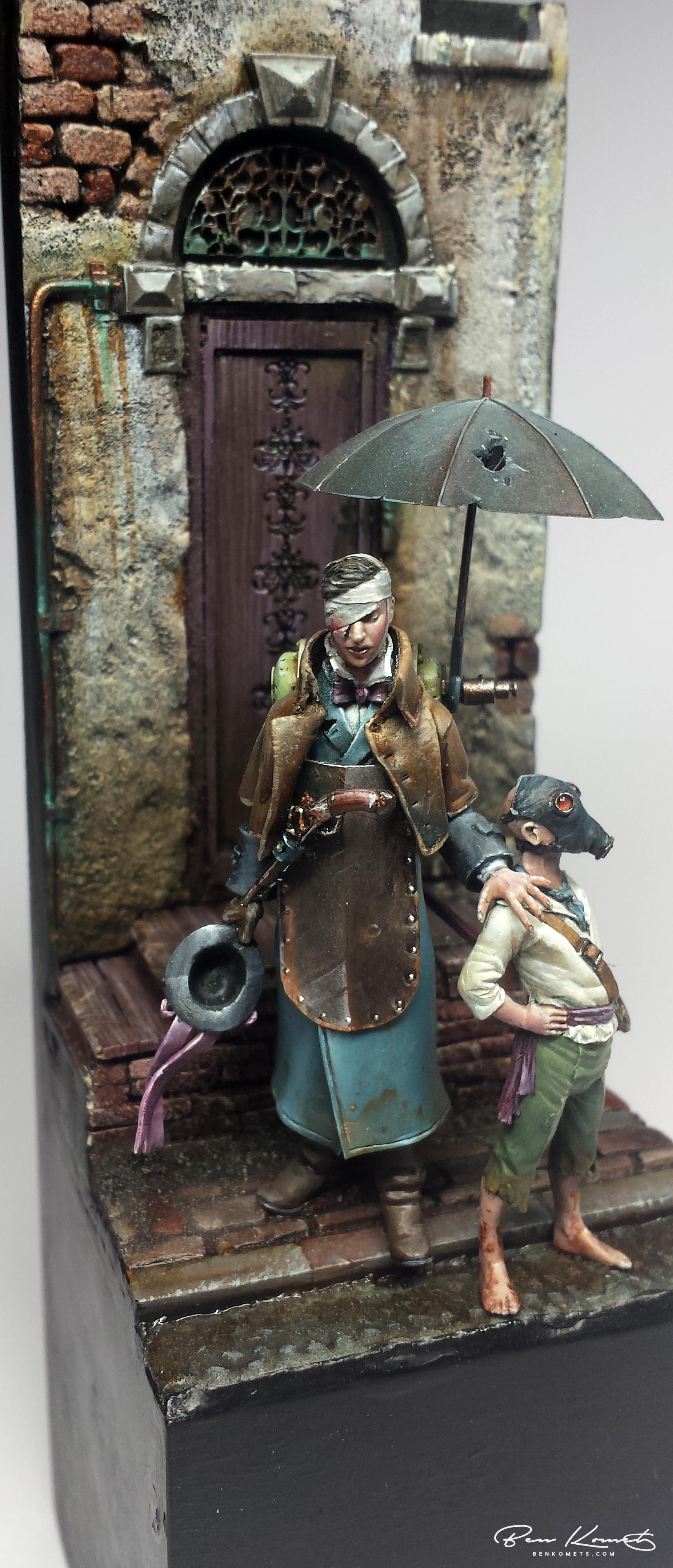 Steampunk Diorama Ndash Ben Komets
