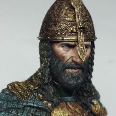 Saladin painted by Ben Komets