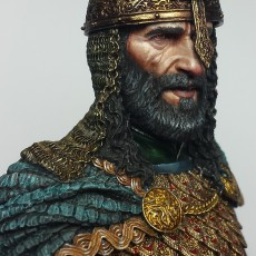 Saladin painted by Chris Buck